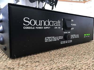 Soundcraft CPS 150 Power Supply + Free Cables