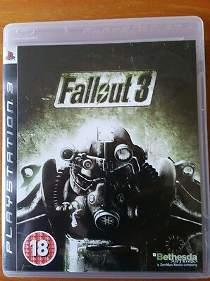 Fallout 3 PS3 Game Boxed with manual playstation 3 pal