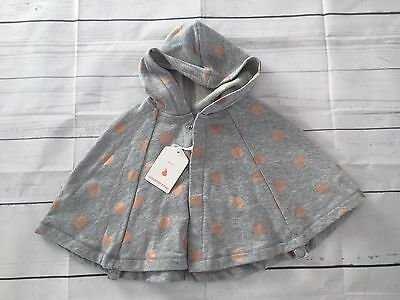 BNWT COUNTRY ROAD Baby Spot Cape / Poncho Size S RRP $49.95