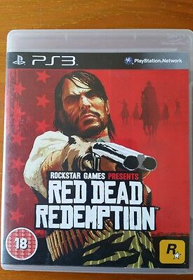 Red Dead Redemption PS3 Boxed playstation 3 pal