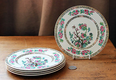 Maddock : Indian Tree : 5 x Side / Bread Plate