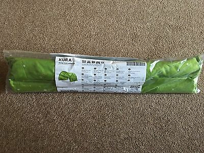 Ikea kura Bed Tent Green Dot Spot Bedroom Kids New and Sealed, Playden Canopy