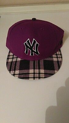 NEW ERA Cappello SNAPBACK Cap NY Donna HAT Nuovo Berretto MLB