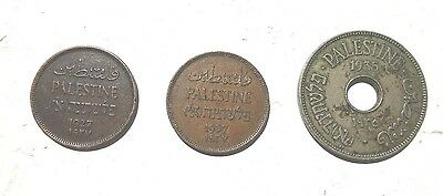 3 Old Coins From Palestine