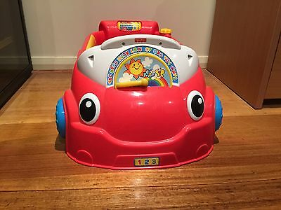 Fisher Price Laugh And Learn Red Car 🚗