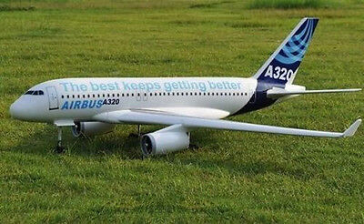 A320 Airbus 60inch WS scratch build Rc Plane Plans and Patterns