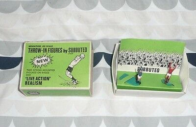 Subbuteo Job Lot Spares Portsmouth Rangers Throw in Figures Goal Posts + Ball