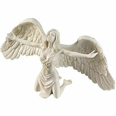 Design Statues Toscano Pray For Peace Bonded Marble Angel Statue