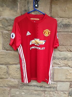 Brand New With Tags Manchester United FC 2016/17 Adidas Home Shirt Red Medium