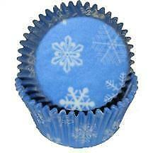 Snowflake Baking Cups  - 50 Pack