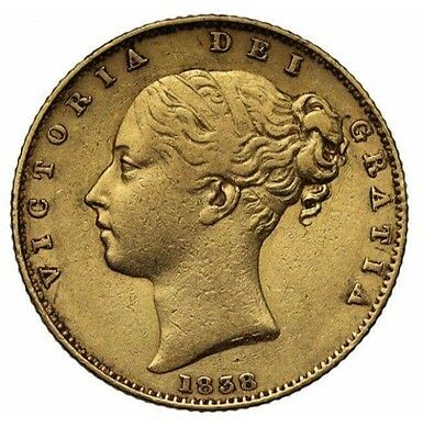 1838 Victoria Full Sovereign