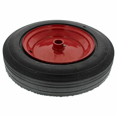 "Solid Rubber Mixer Wheel - 14"" Dia x 1"" Bore Fits Belle Premier XT"