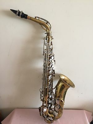Vintage The Parisian Ambassador Saxophone ( Made In France)