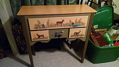 Vintage Table-Hand Painted