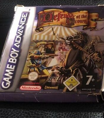 Defender Of The Crown Nintendo Game boy Advance Boxed