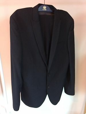 """Next 38 chest  Suit for Prom / Wedding Blue  38R Jacket , 32"""" Trousers"""