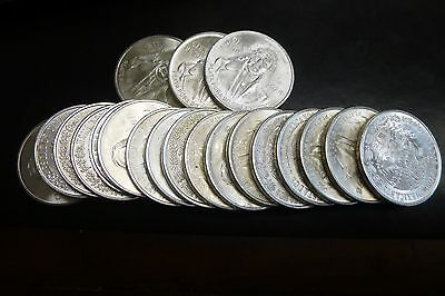 20 1978 Mexico (100) Cien Peso Silver Coin Roll, 1 Tube #3