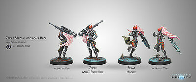 Infinity Corvus Belli Zerat Special Missions Reg Combined Army metal new