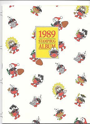 1989 Stamp Bug Album Not Used