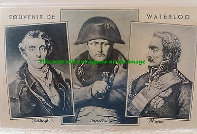 BATTLE OF WATERLOO Complete Historical 10 Postcard Set by A DOHMEN