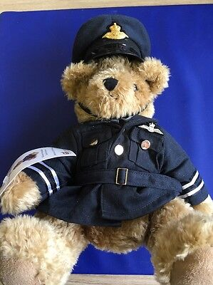 Royal Bear Force. RAF Uniformed Teddy Bear.