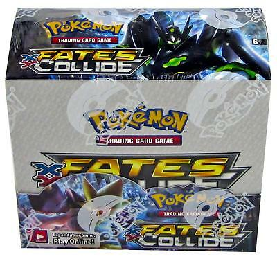 Pokemon XY Fates Collide Booster Box - Factory Sealed - 36 Packs- FAST shipping!