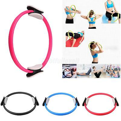 Sport Pilates Double Handle Resistance Ring Yoga Gym Aerobic Training Circle