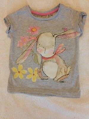 Girls Next rabbit bunny top t.shirt 6-9 months