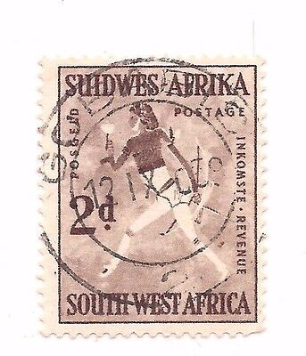 SOUTH-WEST AFRICA stamp.