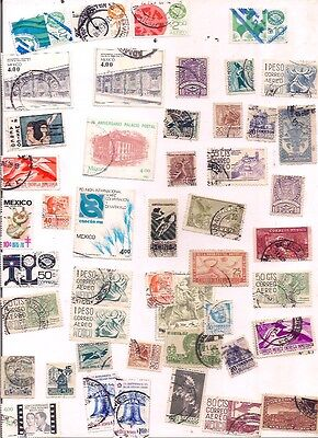 50 MEXICO stamps.