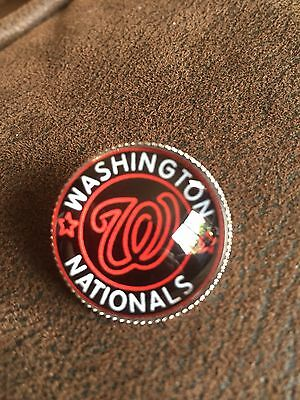 WASHINGTON NATIONALS  Baseball MLB  Top Quality Unique Raised Pin Badge