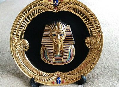 The Franklin Mint Heirloom Recommendation THE MASK OF TUTANKHAMUN by Ibrahim S.
