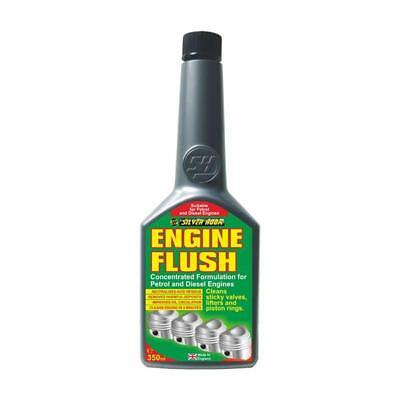 12 x Silverhook Engine Oil Flush For Petrol+Diesel Engines - Concentrated 350ml