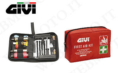 SET GIVI security moto case first aid e borsello repair tyres tubeles