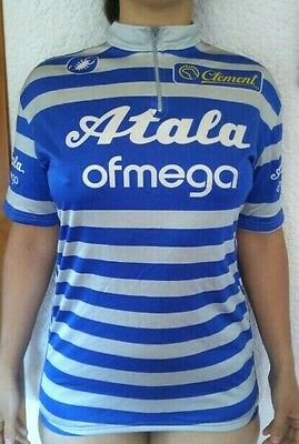 Atala vintage Campagnolo cycling jersey size 6 immaculate ideal Eroica C Record