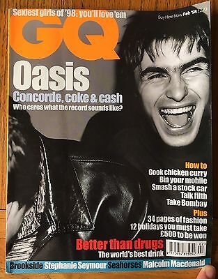 Set of 1990s magazines with Oasis covers