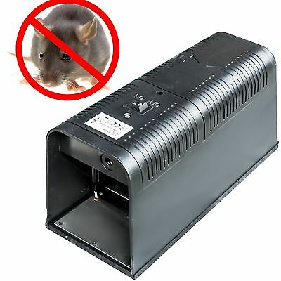 Electronic Mouse Rat Rodent Killer Poison Free Electric Pest Control Zapper Trap