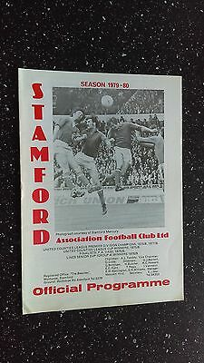 Stamford V Boston United 1979-80