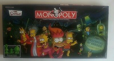 The Simpsons Monopoly Treehouse Of Horror Collectors Edition Board Game