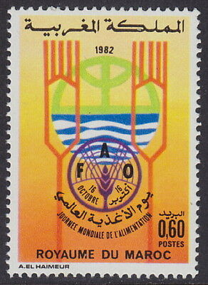 MOROCCO - 1982 World Food Day (1v) - UM / MNH