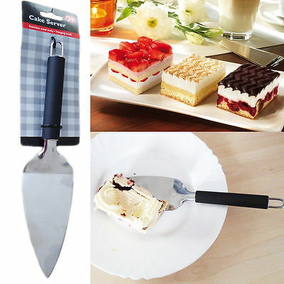 Cake Server Slicer Stainless Steel Pizza Cutter Serving Spoon Serve Pie Triangle