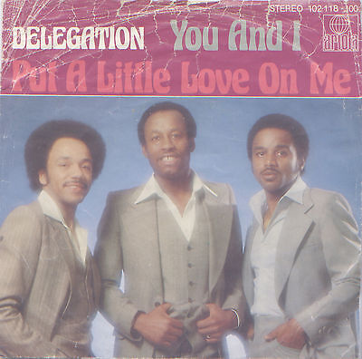 "Delegation - You and I 7"" Single 1979"
