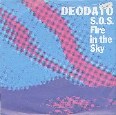 "Deodato - SOS Fire in the sky 7"" Single 1980"