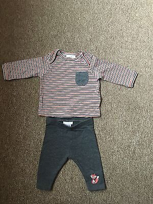 Next Baby Girls Outfit 0-3 Months