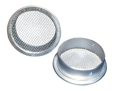 "2"" Round Open Screen Vent - Mill - Pkg of 6"