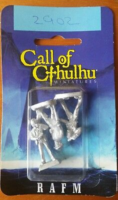 Call Of Cthulhu Miniatures RAFM Professors X 3 boxed
