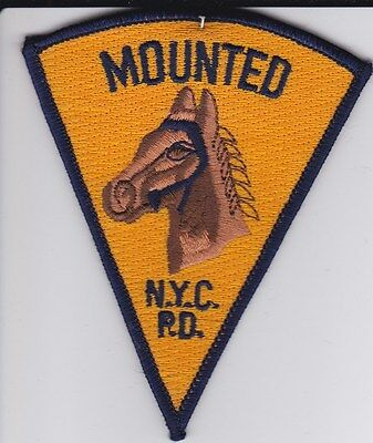 NYPD Mounted Police Patch