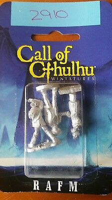 Call Of Cthulhu Miniatures RAFM Private investigator male X 3 boxed
