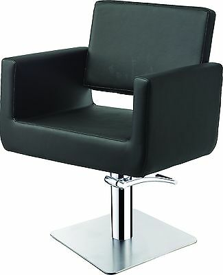 LSE Collection Yang hairdressing chair on a square lockable hydraulic base