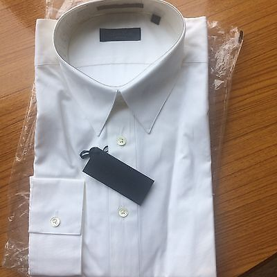 """Brand New Calvin Klein White Shirt - Formal Or Casual Size Large 16"""" Collar"""